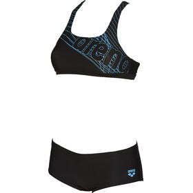 arena Altair Two-Pieces Swimsuit Women black-sea blue